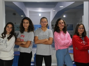 5 More Swimmers From Çevre College are Selected For The Turkish National Team