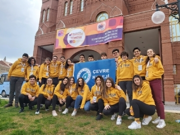 Çevre High School in Destination Imagination Global Finals Tournament One More Time