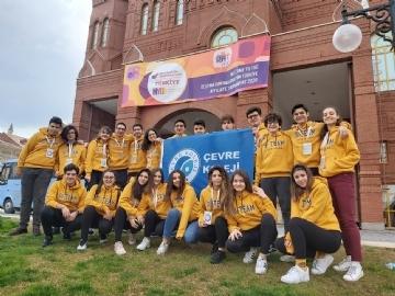 Çevre Koleji Destination Imagination Turnuvası'nda Yeniden Dünya Finallerinde