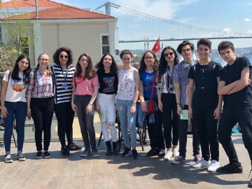 Çevre High School at Istanbul Mathematics Festival